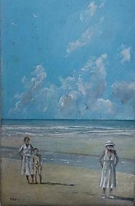 Hayle Beach,1920