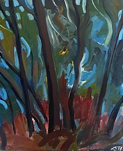 Woodland Blues ... Autumn Hues