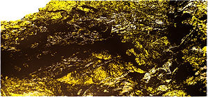 Veins Of Quartz, Cape Cornwall - Yellow Edition