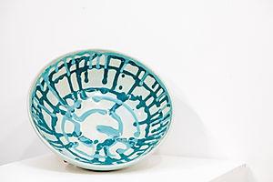 Turquoise Splash Bowl II