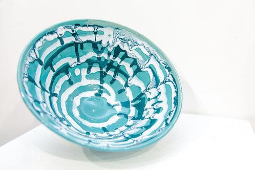Turquiose Splash Bowl I