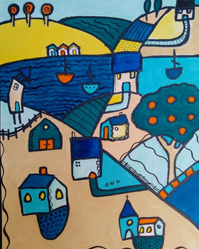 Colourful Village 4