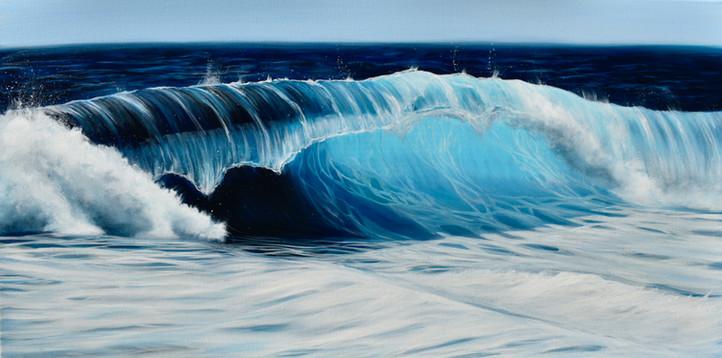 Turquoise Sea Wave