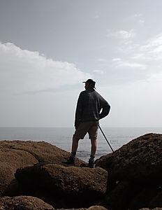 Wanderer Above the Sea of Solitude After Caspar David Friedrich
