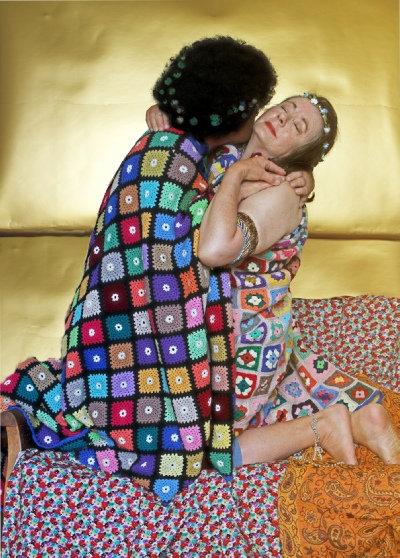 Klimt in the Care Home (after Gustav Klimt)