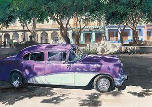 Buick on the Prado