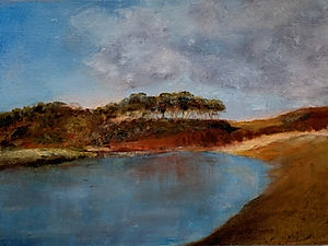 Otter Estuary, Evening Light