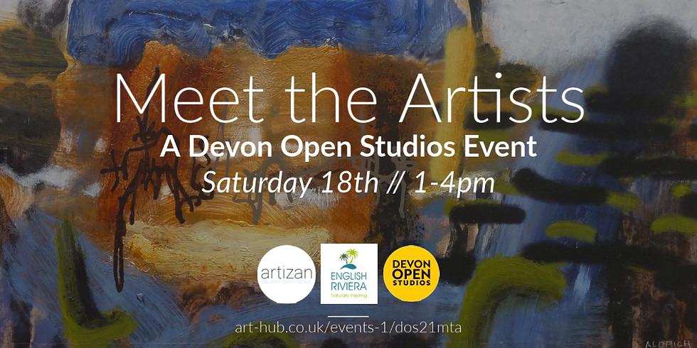 Meet the Artists - A Devon Open Studios Event