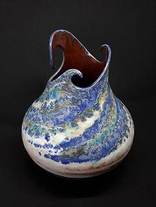 Medium Triple Wave Vase