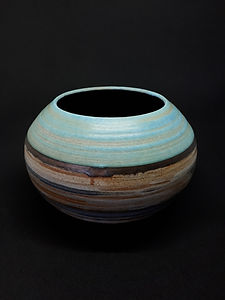 Striped Bowl I