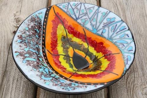 Peacock Eye Bowl