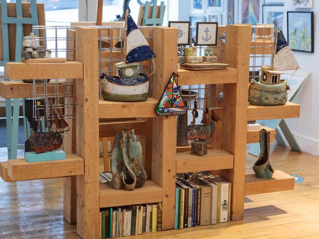 Shop Front Shelves
