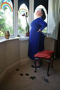 Self-isolating (after Sir John Everett Millais)