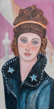 Becky Sharpe (Vanity Fair, William Makepeace Thackerary) Wearing Lou Reed Jacket