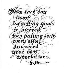 Goals - Expect