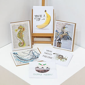 Fine Art Cards - Humour Collection