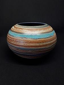 Striped Bowl II