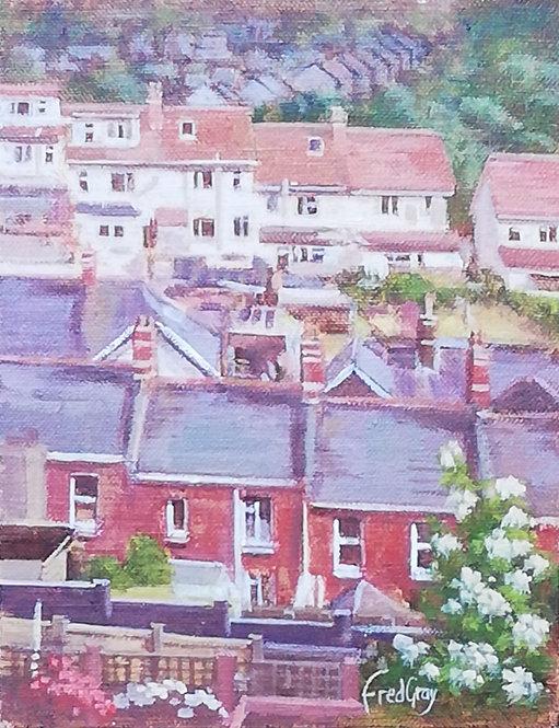 Sherwell Valley from Burridge