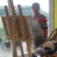 s.lissenden in studio - Sandra Lissenden