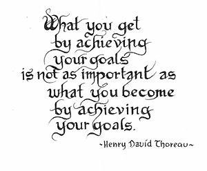 Goals - Thoreau
