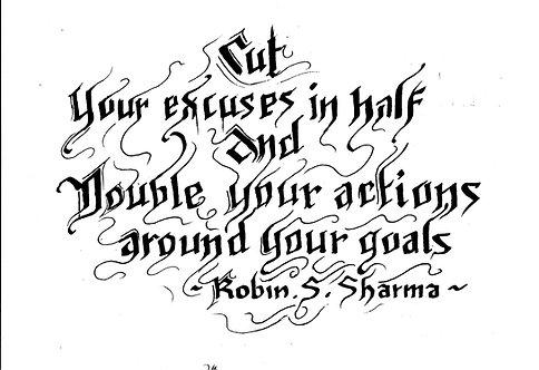 Goals - Excuses