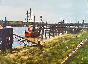 Piers At Southwold