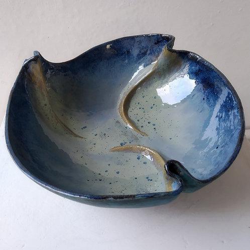 Ocean Blue Bowl