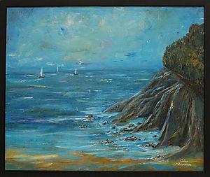 Salcombe- North Sands