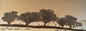Dartmoor Hedgerow #1 - Brown