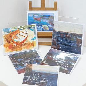 Fine Art Cards - Boats