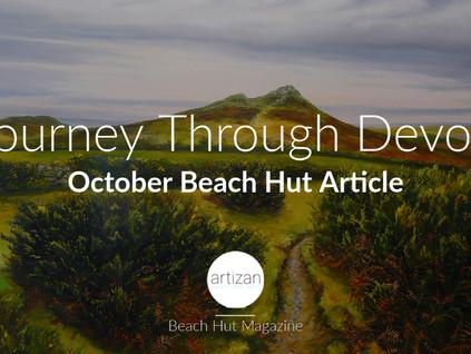 """""""Journey Through Devon"""" - October Beach Hut Article"""