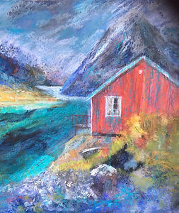 Traditional Rorbu, Lofoten Islands