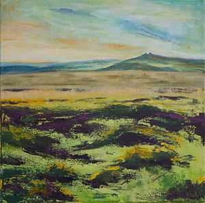 Towards Haytor In Summer
