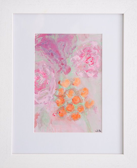 Pastel Berries with Rose