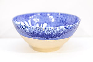 Medium Deep Blue Bowl