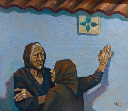 Morning Gossip in Naxos