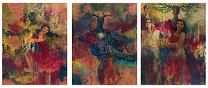 Dance of Creation Triptych