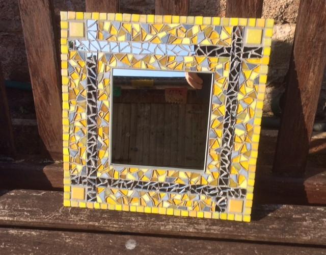 Small Yellow Mirror