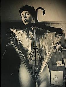 Umbrella (part of the Domestic Nudes series)