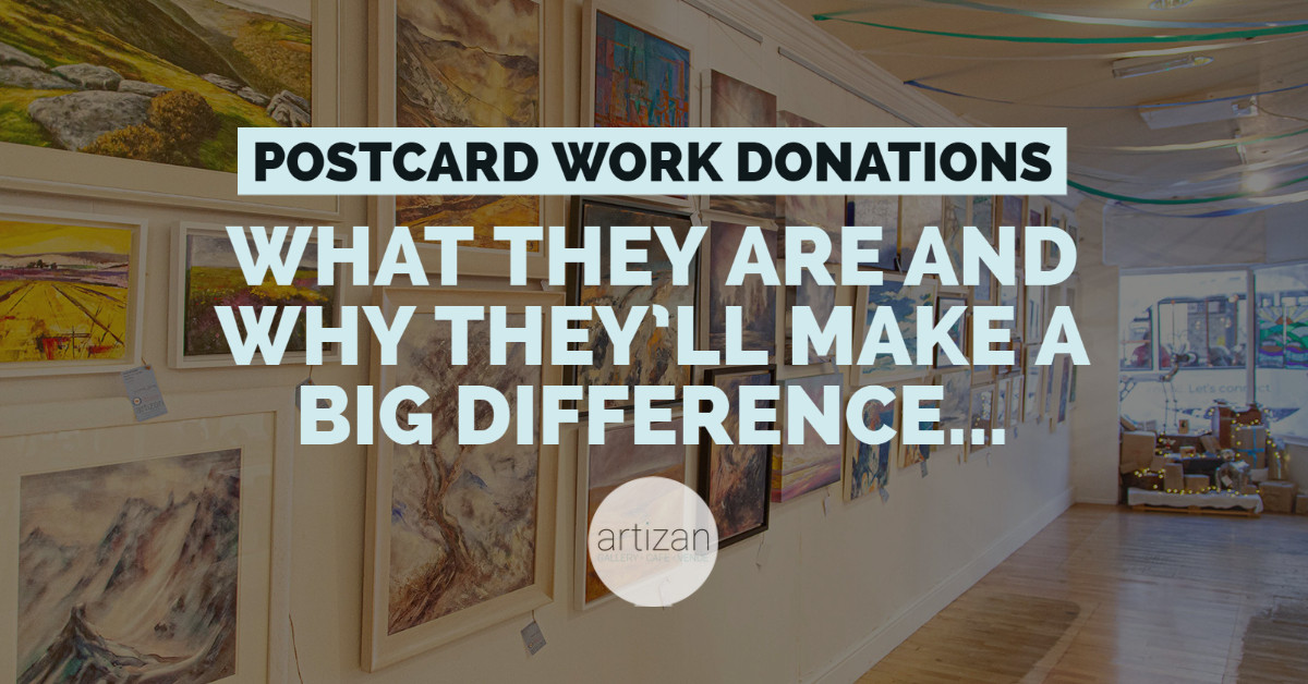 How your postcard donation will make a big difference…