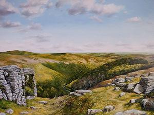 Bench Tor Dart Valley