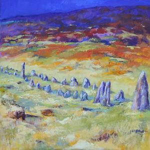 Merrivale Stone Row, Dartmoor
