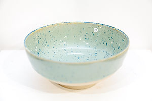 Small Speckle Green Bowl