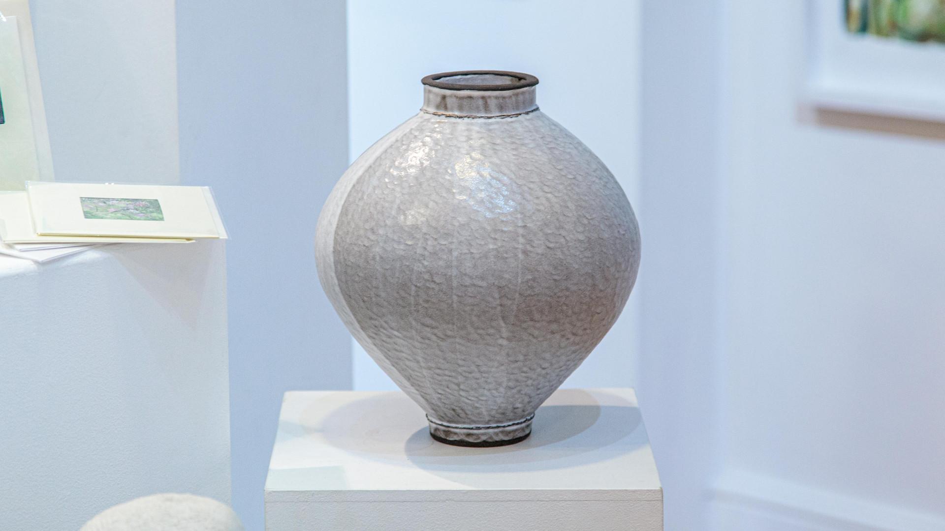 Large White Jar