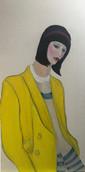 Golden Years Alice (Alice in Wonderland) Wearing a David Bowie Jacket