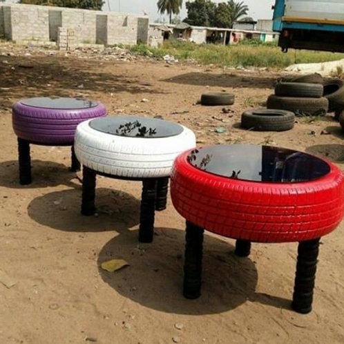 Gurudumu Sanaa Recycled Tires