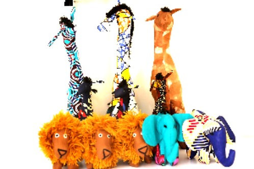Stuffed Animals.