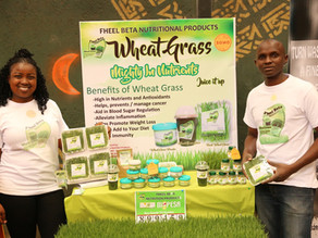 Episode 9: Interview with Philip - Pheelbeta Wheatgrass Products.
