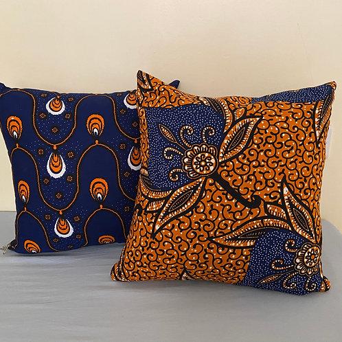 Afriset Cushions.