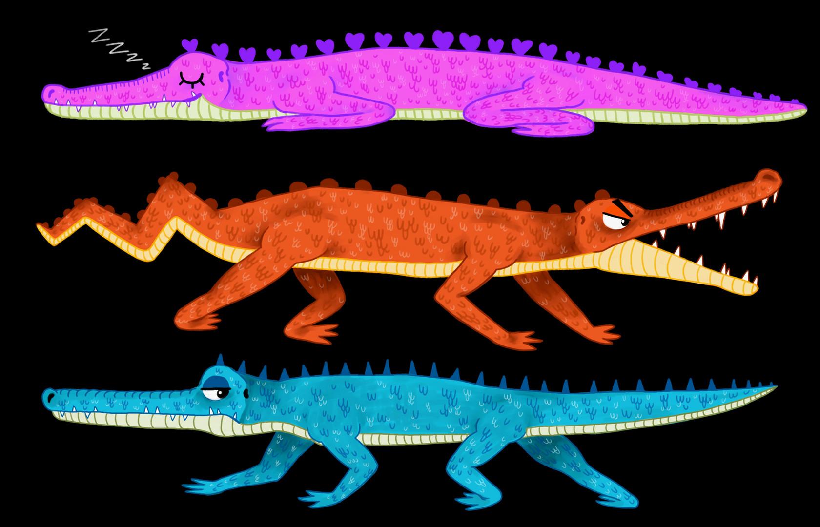 Colorful Crocs!